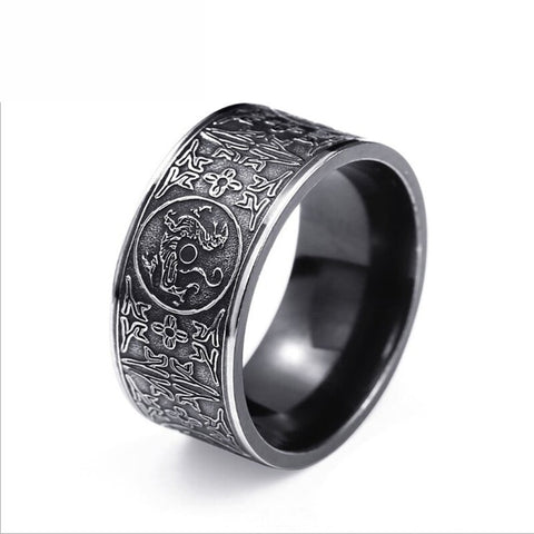 Bague Dragon Viking le Ragnarök