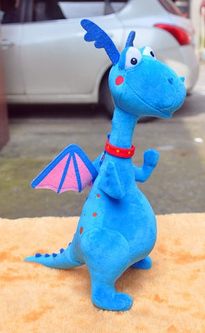 Peluche dragon <br> Merlin le Dragon