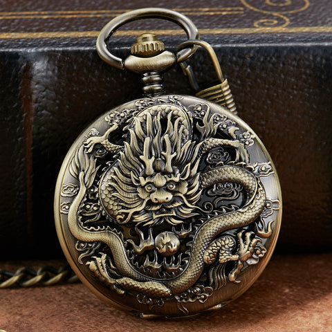 Montre Gousset Dragon <br> Chance (Mécanique)