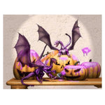 Peinture Diamant Dragon <br> Halloween