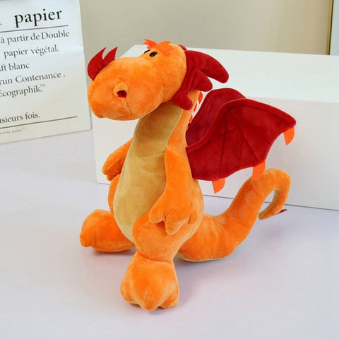 Peluche dragon <br> Pinky le Dragon