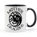 Mug dragon <br> mother of dragon