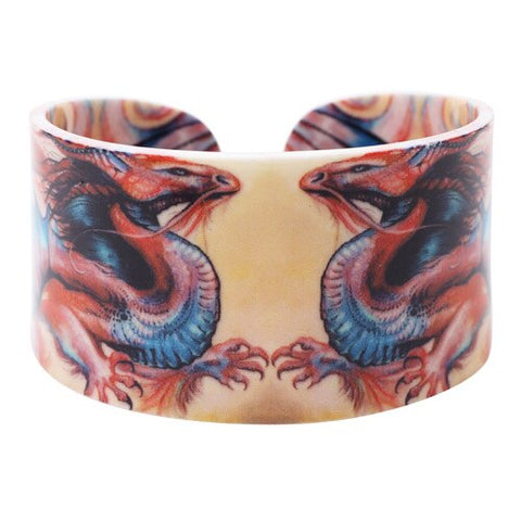 Bracelet Dragon <br> de Chine Rouge