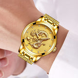 Montre dragon <br>  terrifiant dragon (Quartz)