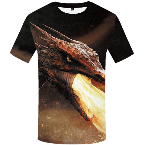 T-shirt dragon <br> cracheur de feu