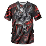T-shirt dragon <br> maléfique