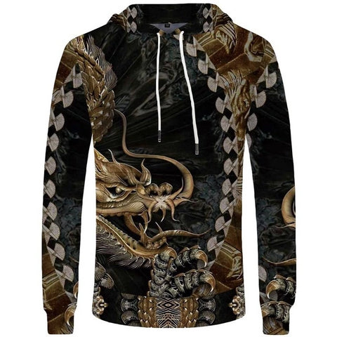 Sweat dragon <br> d'or de chine