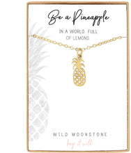 Load image into Gallery viewer, Pineapple Charm Necklace