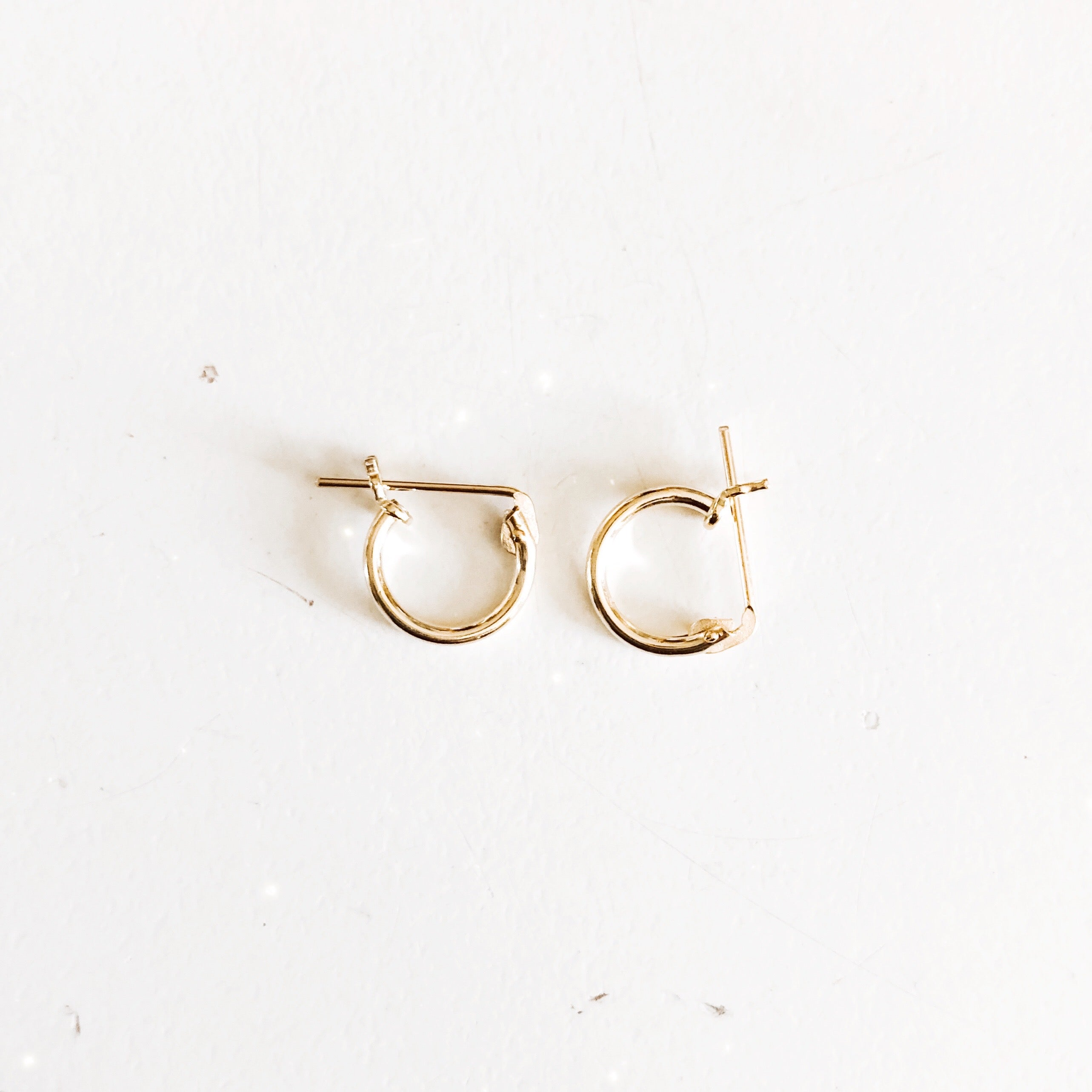 Everyday Tiny Hoop Earrings
