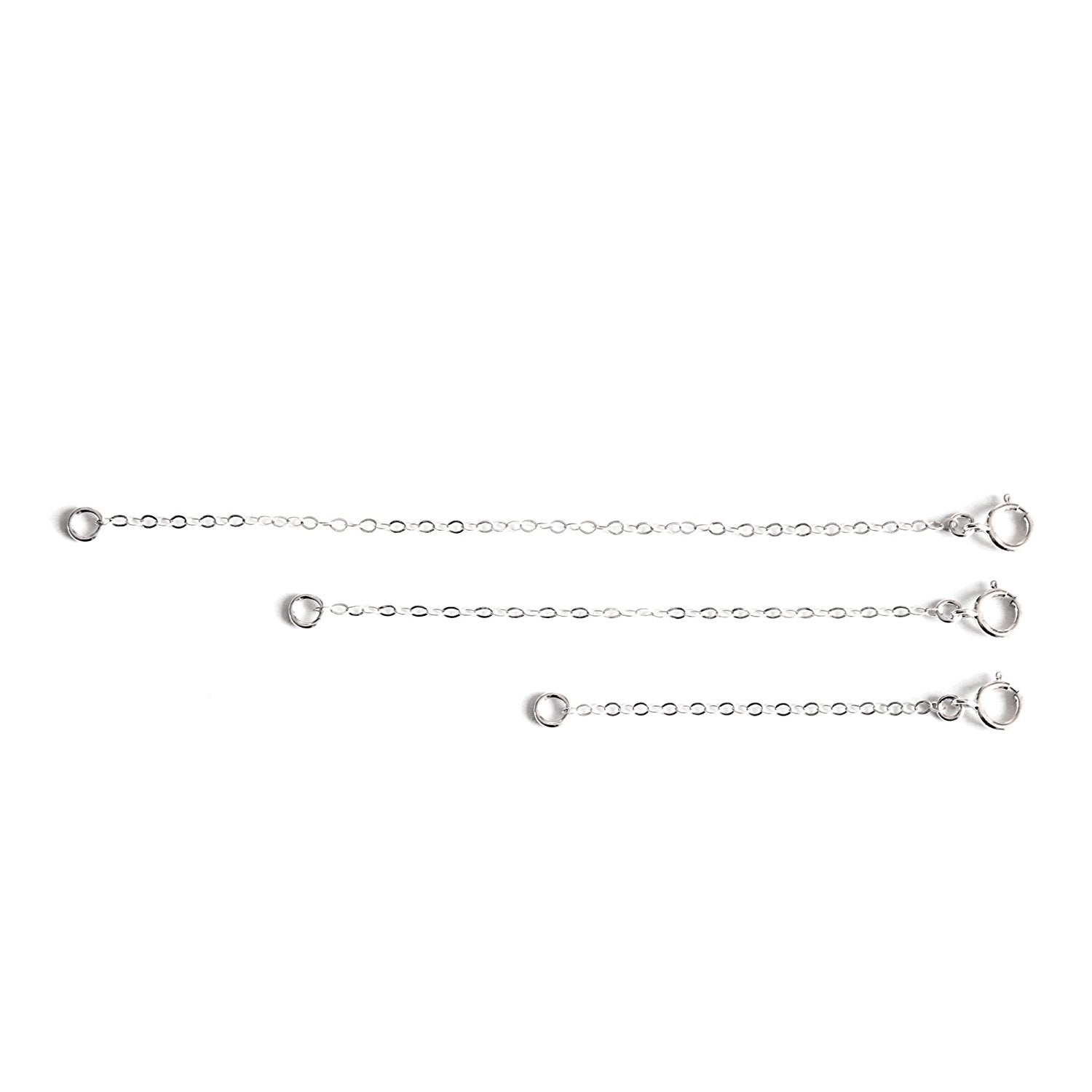 Necklace Extender Chain - 3 Piece Set - 2