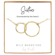 Load image into Gallery viewer, Sisters Interlocking Circle Necklace