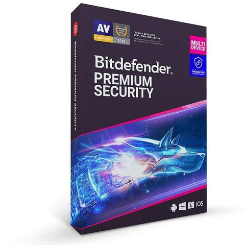 Bitdefender Premium Security 10 Device + Premium VPN 1 Year