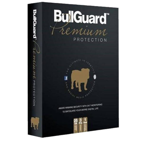 BullGuard Premium Protection 3 Device 1 Year
