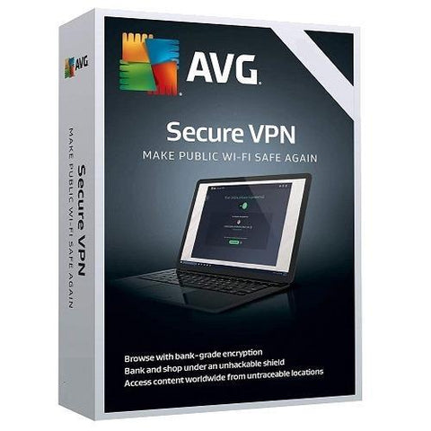 AVG Secure VPN 1 Device / 1 Year