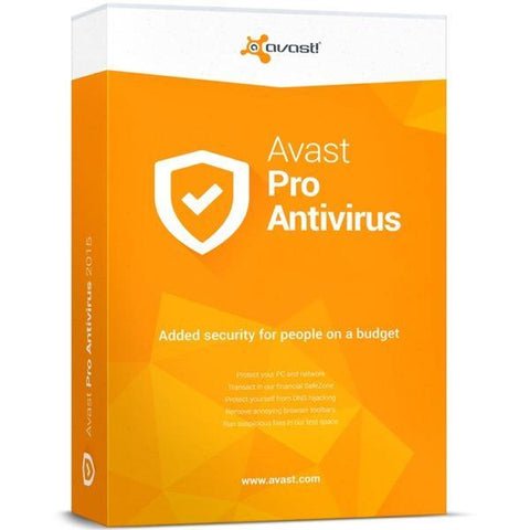 Avast! Pro Antivirus 1 PC / 1 Year