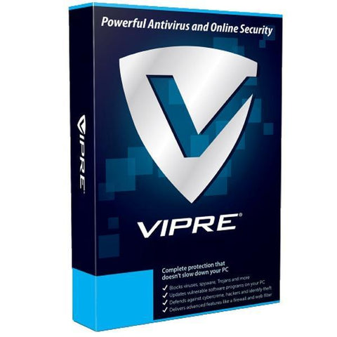 VIPRE Advanced Security 1 PC / 4 Year