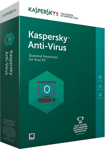 Kaspersky Antivirus 2020 1 PC / 2 Year