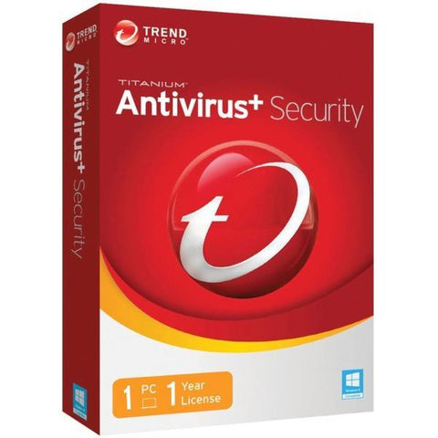 Trend Micro Antivirus + Security 1 PC 1 YEAR