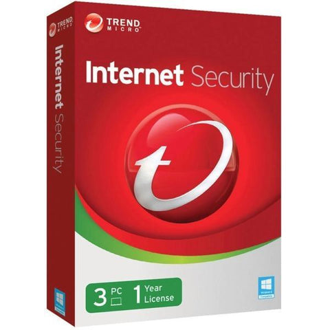 Trend Micro Internet Security 3 PC 1 Year