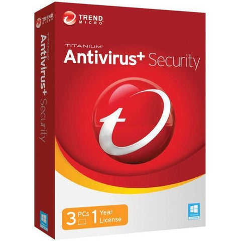 Trend Micro Antivirus + Security 3 PC 1 YEAR