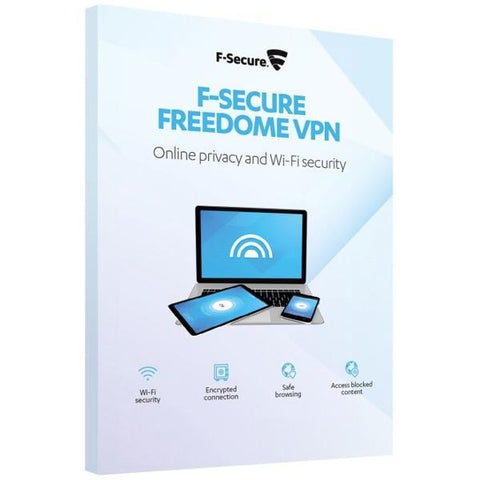 F-Secure Freedome VPN 3 Device / 1 Year