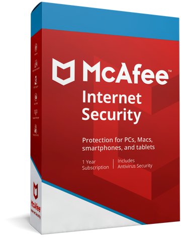 McAfee Internet Security 1 Device 3 Year
