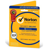 Norton Security Deluxe 5 Device / 2 Year Europe Region - Buy Cheap Antivirus