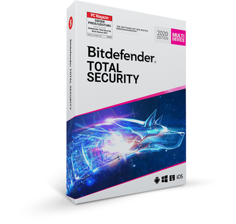 Bitdefender Total Security 5 Device / 1 Year