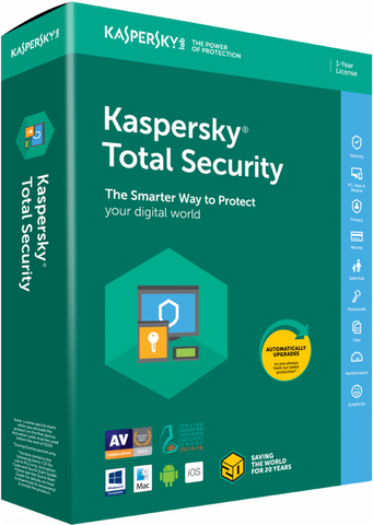 Kaspersky Total Security 5 Device / 1 Year