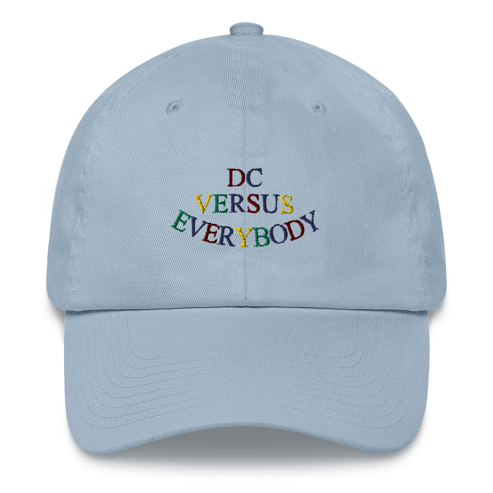 DC Versus Everybody Dad Hat