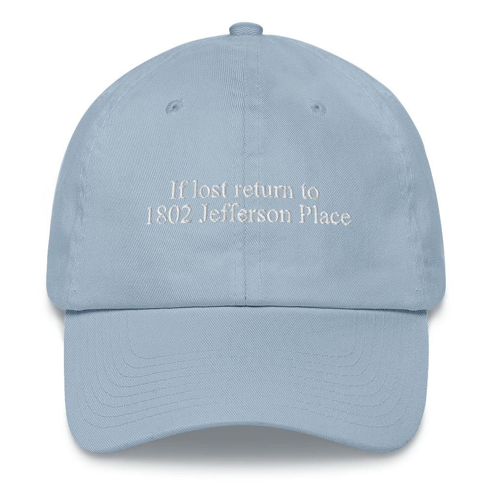 Return to Jefferson Place Dad Hat