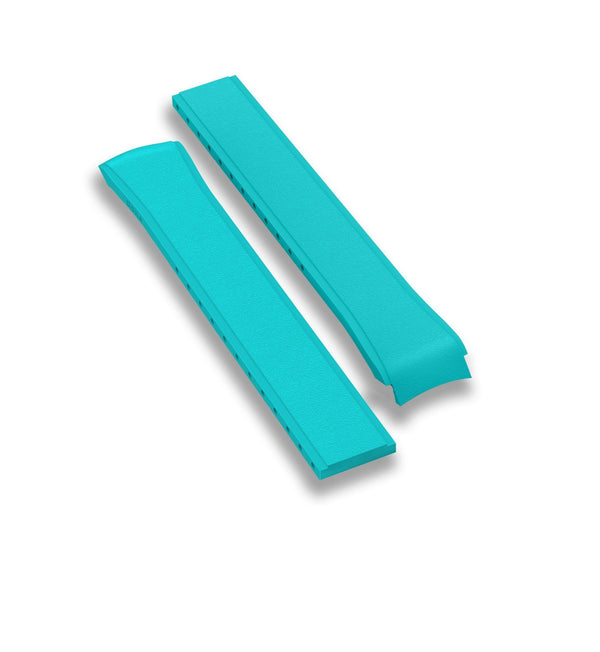 Rubber strap, Turquoise