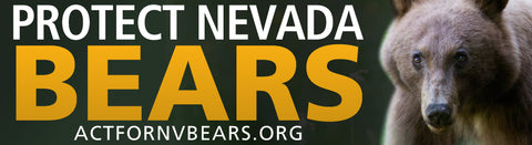 "3x11 ""Protect Nevada Bears"" Bumper Stickers"
