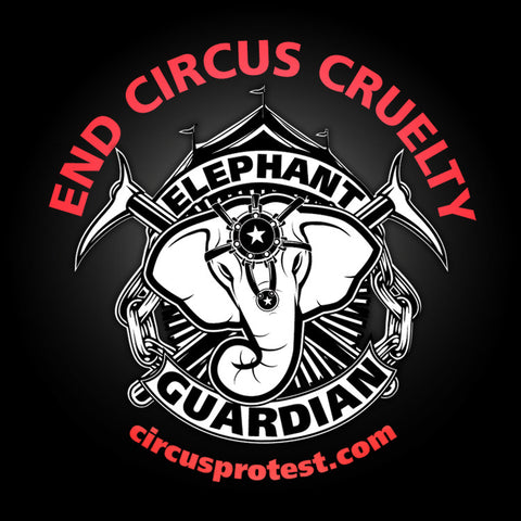 End Circus Cruelty Button