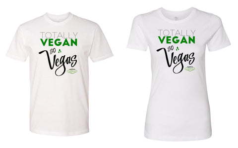 Vegas VegFest Totally Vegan TShirt White