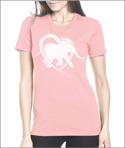 CompassionWorks International Pink Logo Tee