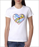 Hearts and Eles Girls t-shirt