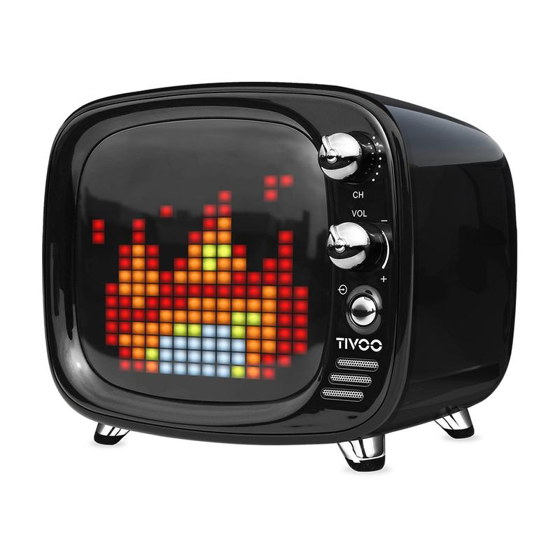 Divoom Tivoo Smart Pixel Art Bluetooth Speaker/ Smart alarm clock