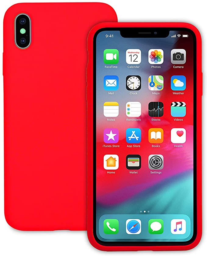 Falta Soft Liquid Silicone Case For Iph Xs Max