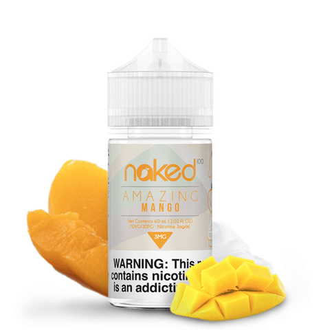 JUICE NAKED 100 AMAZING MANGO - 60ML