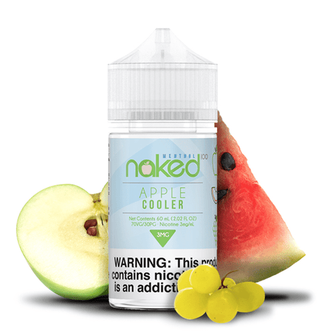 JUICE NAKED 100 APPLE COOLER - 60ML
