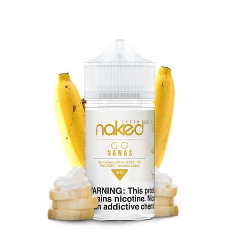 JUICE NAKED 100 GO NANAS - 60ML