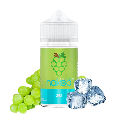 JUICE NAKED 100 GRAPE ICE - 60ML