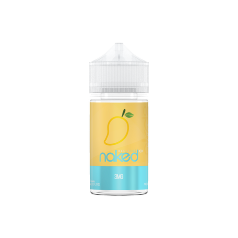 JUICE NAKED 100 MANGO ICE - 60ML