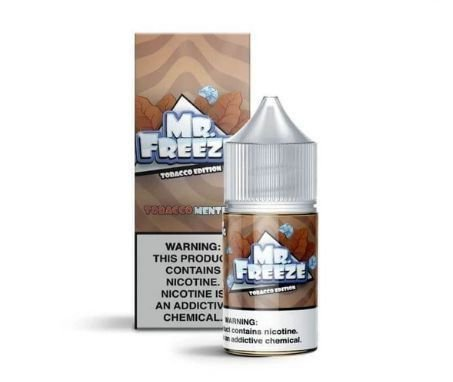 NIC SALT MR FREEZE CUBANO TOBACCO - 30ML