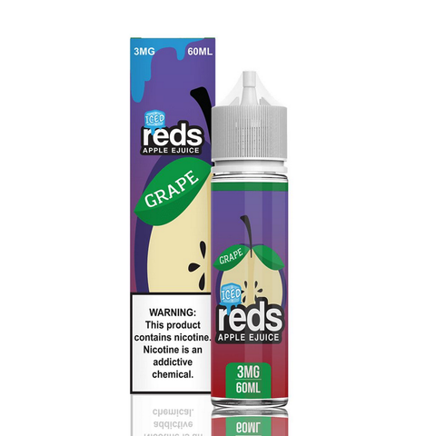 REDS APPLE JUICE GRAPE ICED - 60ML