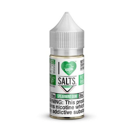 NIC SALT MAD HATTER I LOVE SALTS SPEARMINT GUM 30ML