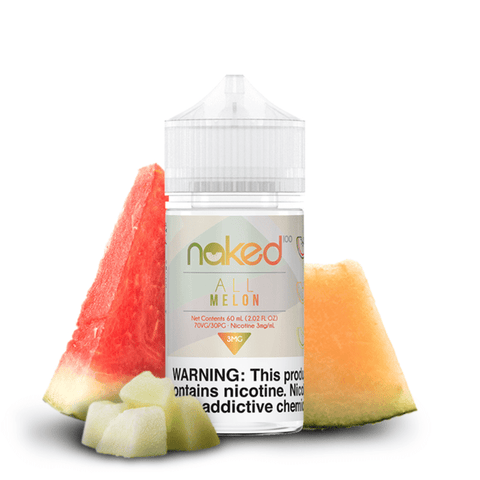 JUICE NAKED 100 ALL MELON - 60ML