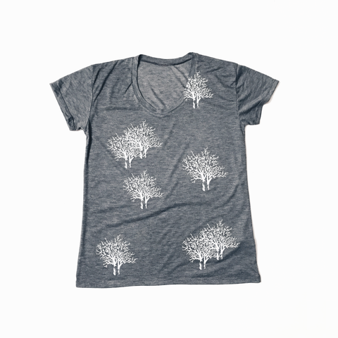 Slouchy T Shirt / Enchanted Forest Print