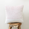 Throw Pillow Cover / Red Rain